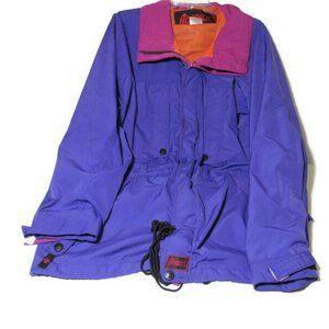 VTG Nordica Jacket Color Block Bright Bold Purple